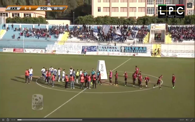 Akragas-Foggia Sportube: streaming diretta live, ecco come vedere la partita