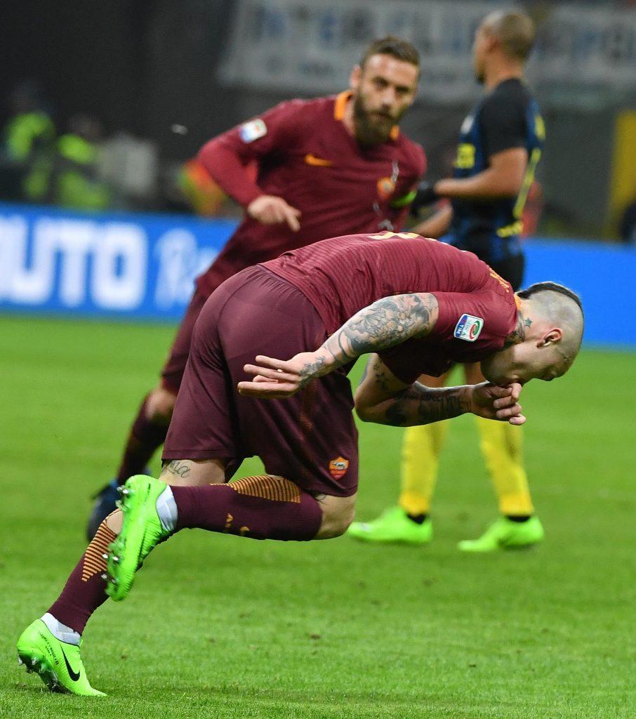 Inter-Roma, Nainggolan video gol: da oscar con bolide a 100 all'ora