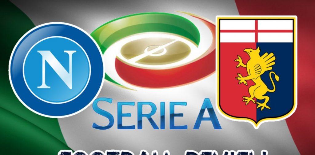 Napoli-Genoa streaming - diretta tv, dove vederla