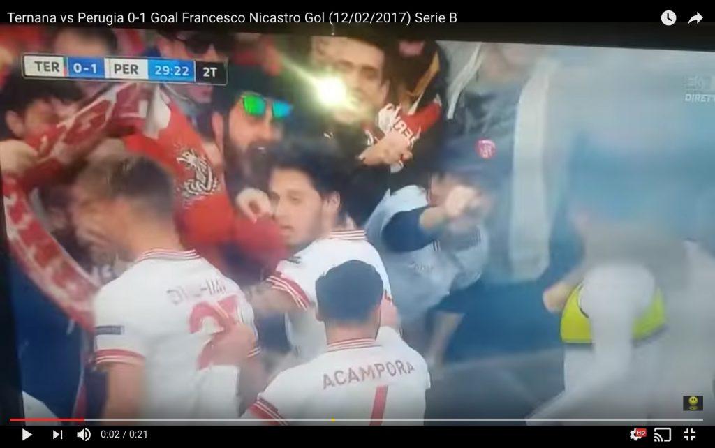 Ternana-Perugia 0-1 highlights: Nicastro video gol decisivo nel derby