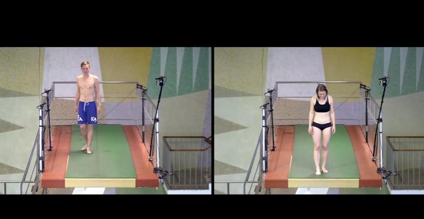 YOUTUBE Saltereste da un trampolino di 10 metri? L'esperimento-documentario