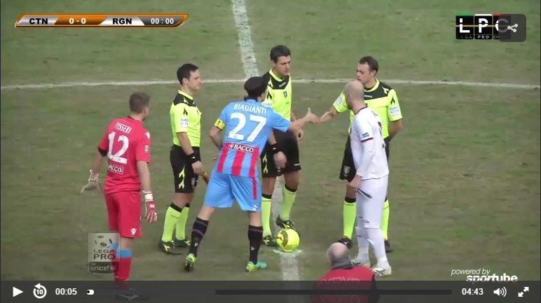 Catania-Taranto Sportube: streaming diretta live, ecco come vedere la partita