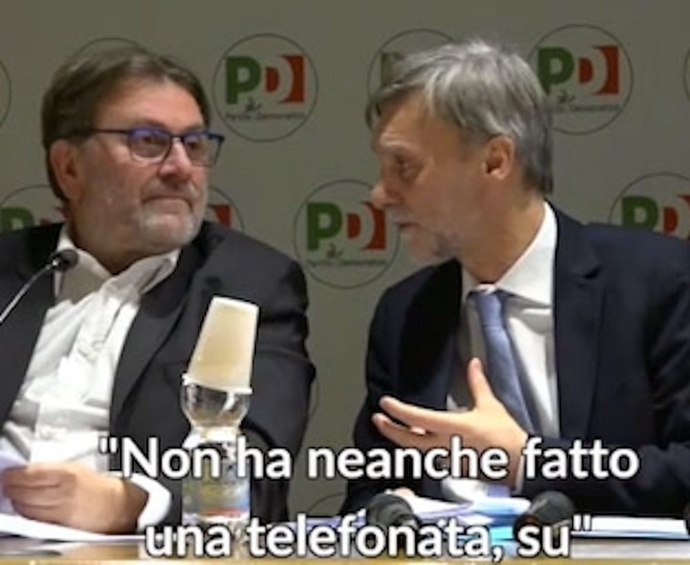 """Delrio e il fuori onda contro Renzi: """"Nemmeno una telefonata su scissione"""""""