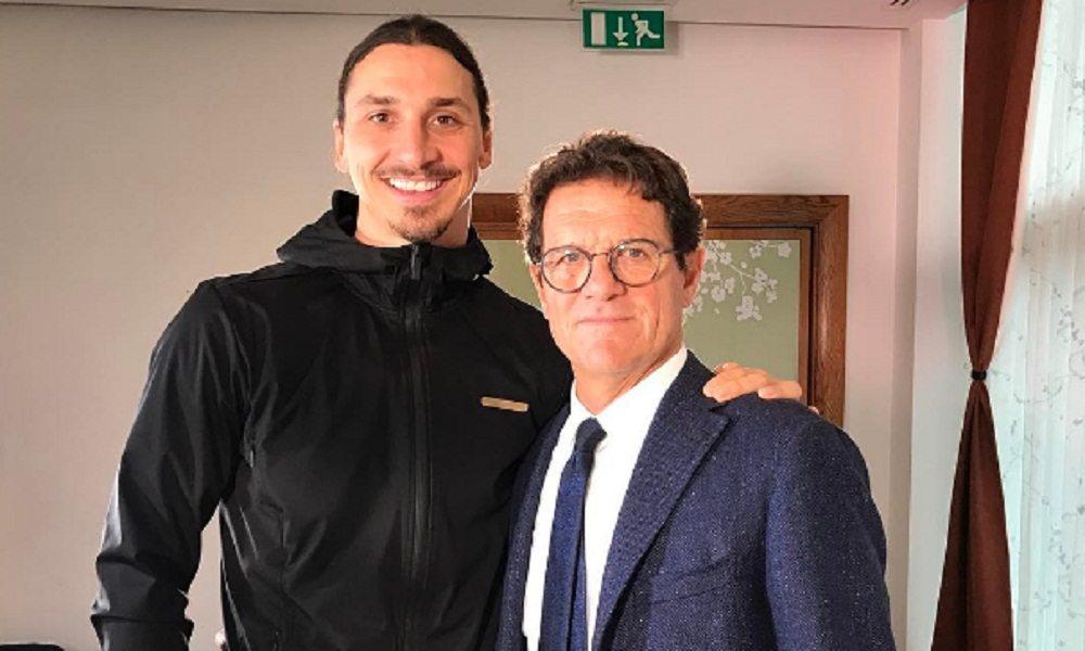 """Zlatan Ibrahimovic ringrazia Capello: """"Ha cambiato il mio gioco"""""""