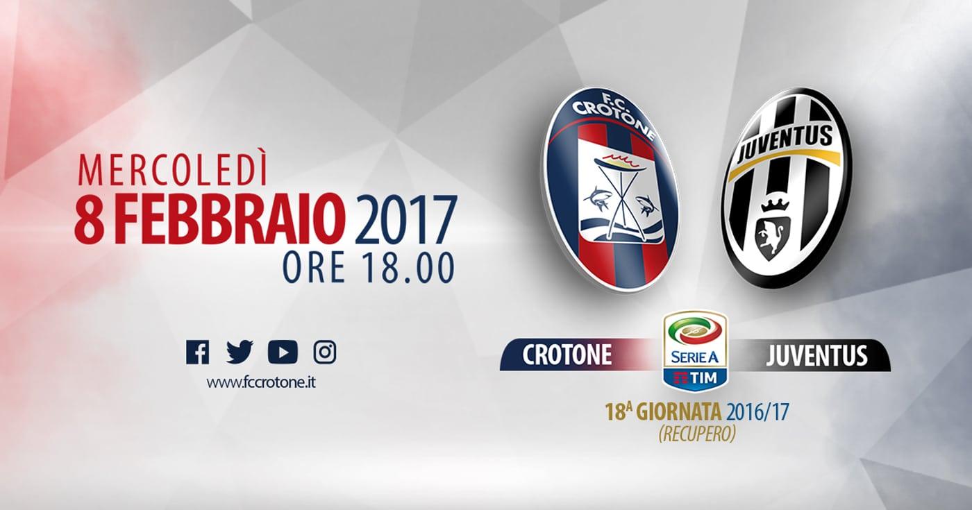 Crotone-Juventus streaming - diretta tv, dove vederla