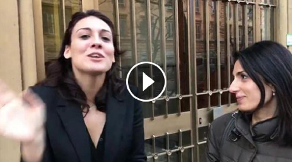"""Ilary Blasi a Virginia Raggi: """"Lo stadio della Roma te lo accolli te"""". Ma è imitatrice...Ilary Blasi a Virginia Raggi: """"Lo stadio della Roma te lo accolli te"""". Ma è imitatrice..."""