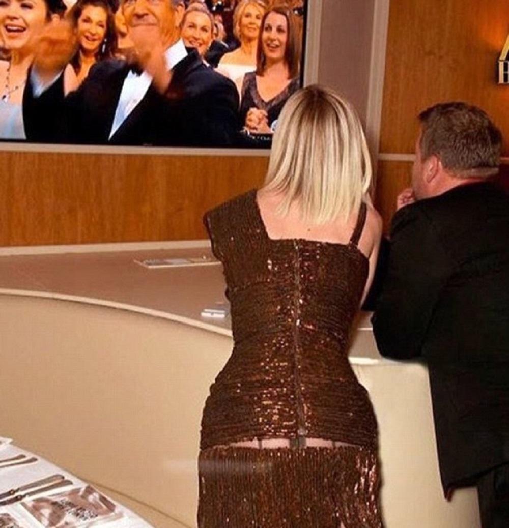 Oscar 2017, Katy Perry tradita dalla gonna: si piega e mostra...FOTO-VIDEO2