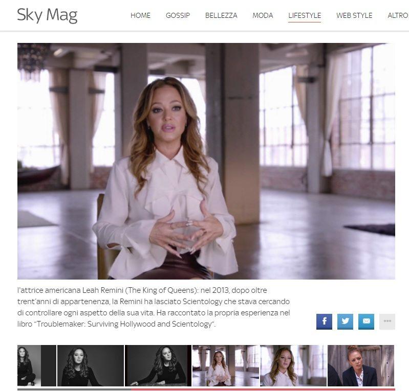 "Scientology risponde all'attrice Leah Remini: sulla nostra ""Chiesa"" calunnie di bugiardi dichiarati"