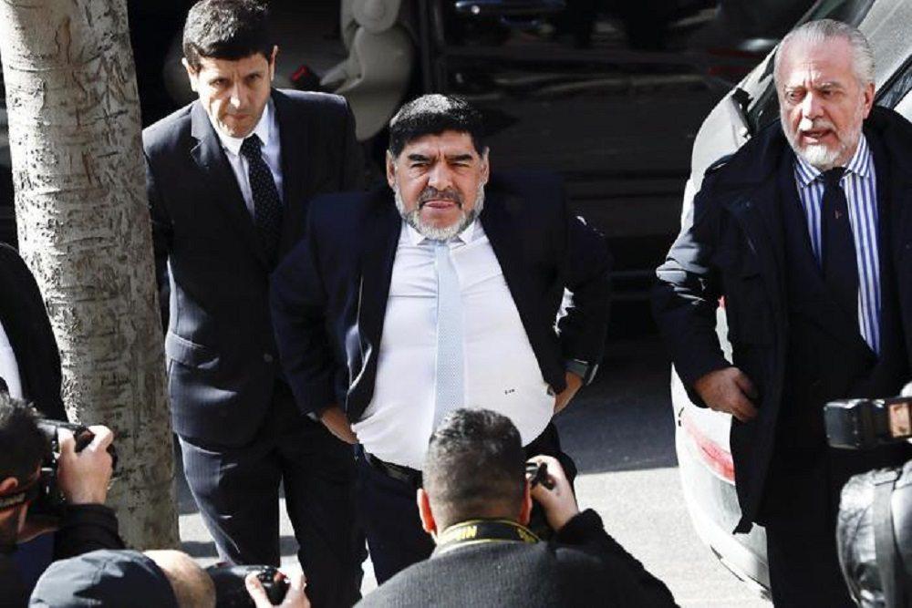 Rocio Oliva non denuncia Maradona per la presunta aggressione a Madrid