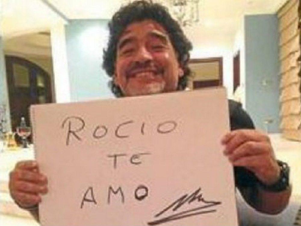 Maradona interrogato a Madrid: presunta aggressione alla compagna