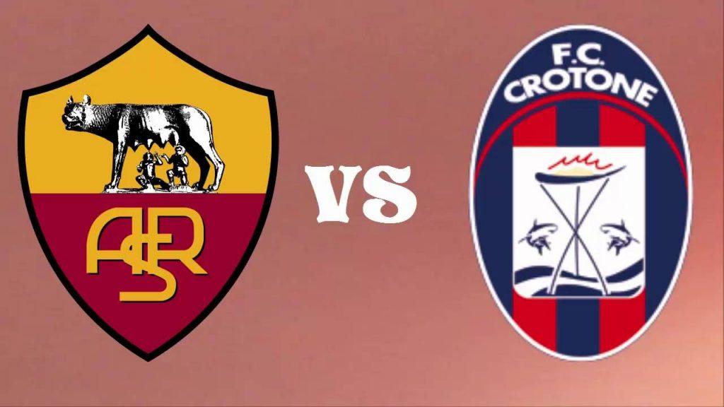 Crotone-Roma streaming - diretta tv, dove vederla