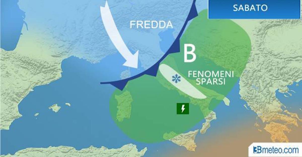 Previsioni meteo per il week end: sole al Nord, ultime piogge al Centro Sud
