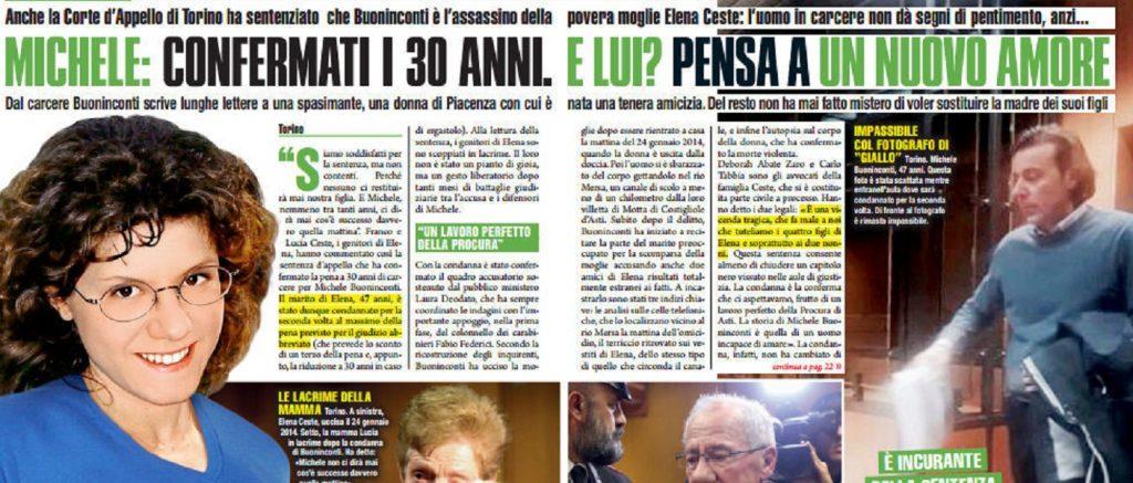 Elena Ceste, Michele Buoninconti in carcere ha già a nuovo amore?