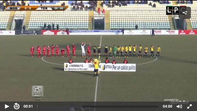 Modena-Ancona Sportube: streaming diretta live, ecco come vedere la partita