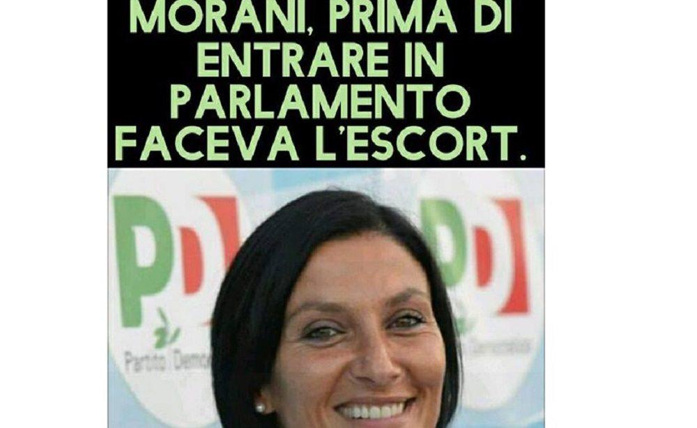 """""""Alessia Morani faceva la escort"""". Il meme by Antonio Donnarumma, attivista M5s"""