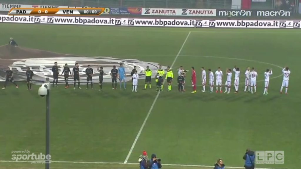Padova-Venezia 1-1: VIDEO highlights Sportube Coppa Italia Lega Pro