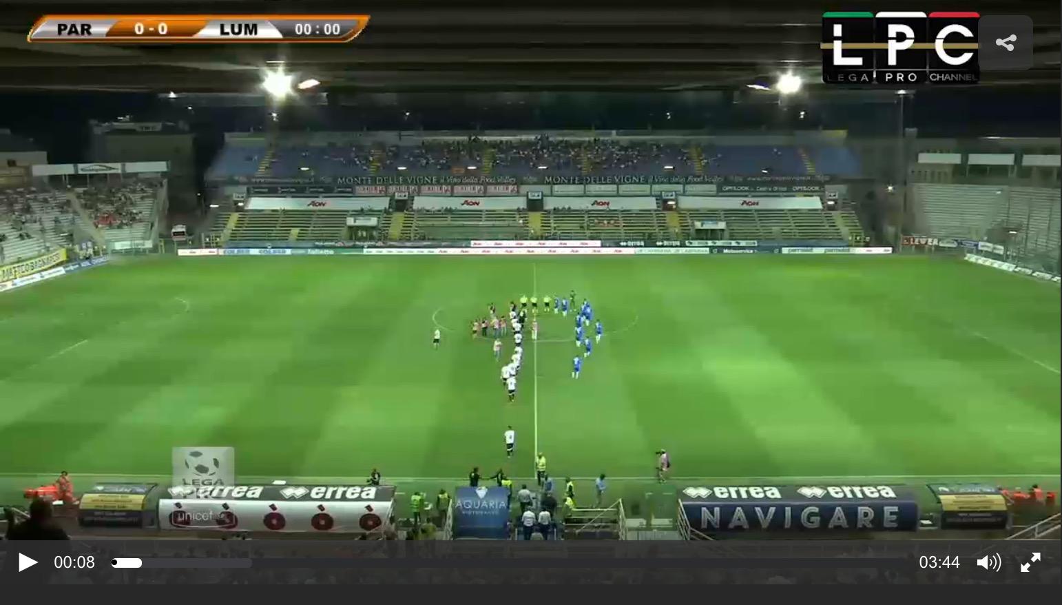Parma-Pordenone Sportube: streaming diretta live, ecco come vedere la partita
