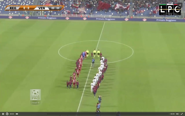 Reggiana-Modena Sportube: streaming diretta live, ecco come vedere la partita