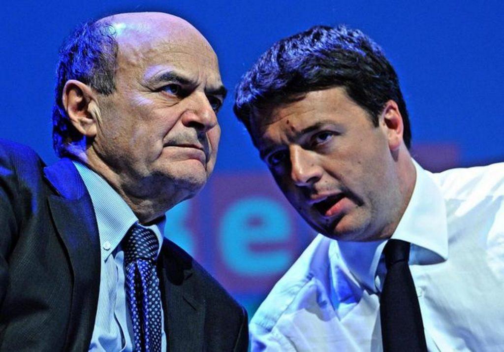 """Bersani lancia appello a Renzi: """"Fermatevi, serviamo prima il Paese e poi il Pd"""""""