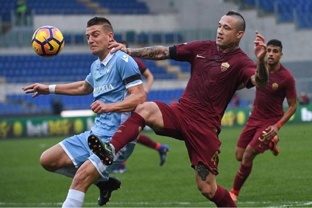 Coppa Italia, Lazio-Roma torna di sera: l'ultima volta nel 2013