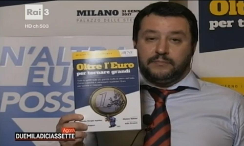 """Matteo Salvini: """"Capisco chi dice che voterebbe Mussolini"""" VIDEO"""