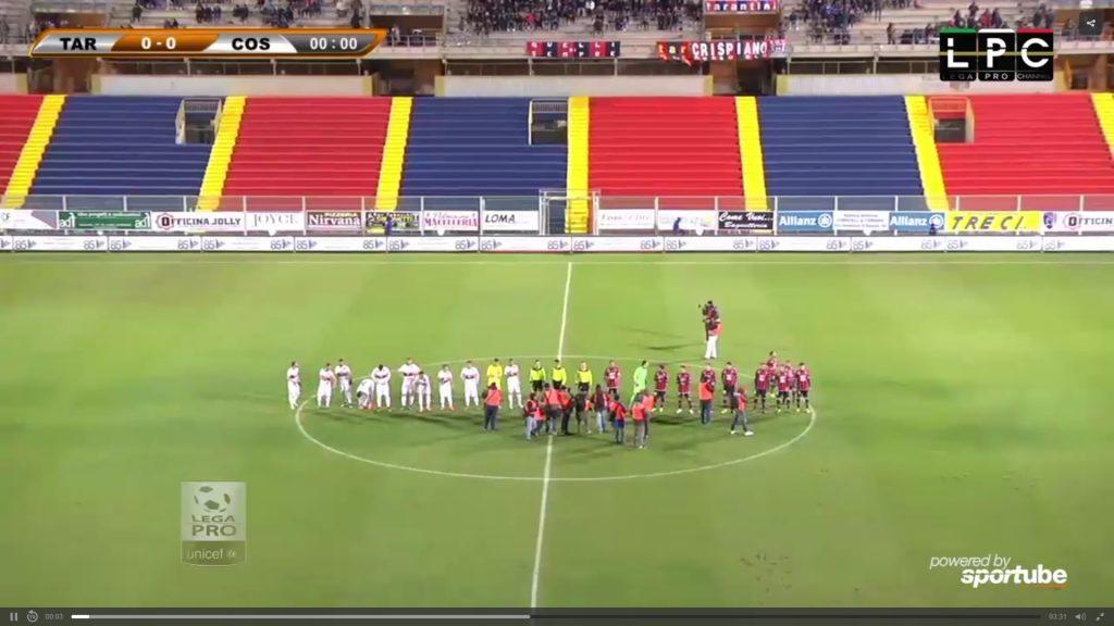 Taranto-Foggia Sportube: streaming diretta live, ecco come vedere la partita