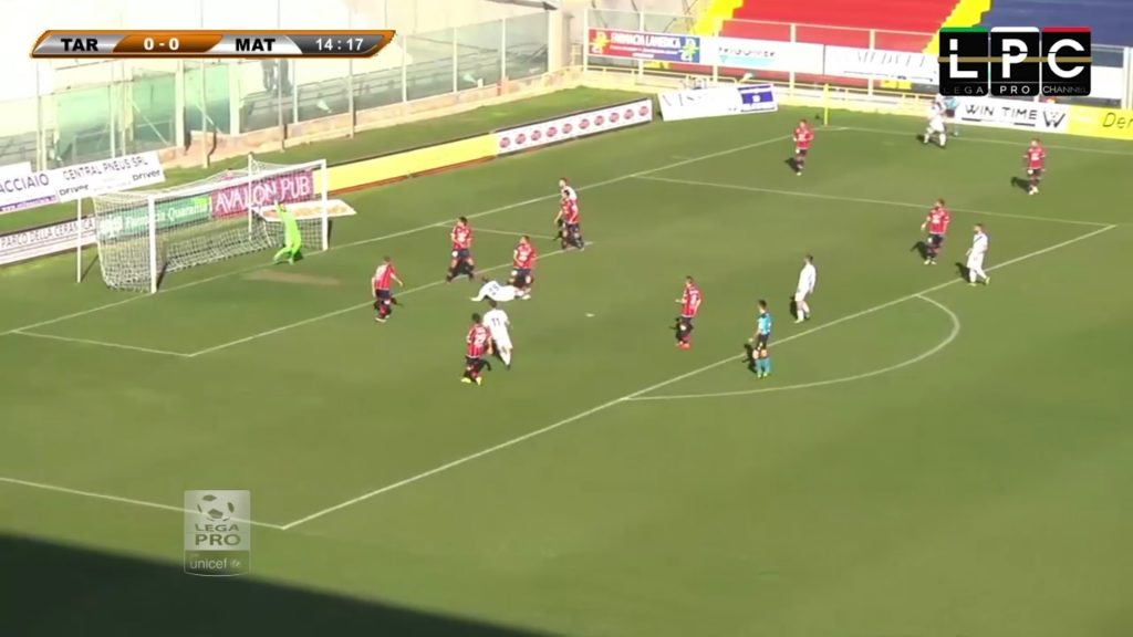 Taranto-Matera 0-1: highlights Sportube VIDEO Coppa Italia Lega Pro