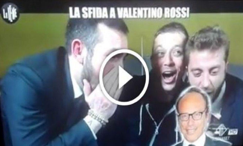 """Le Iene, Valentino Rossi e lo scherzo a Guido Meda: """"Ho deciso di smettere..."""""""