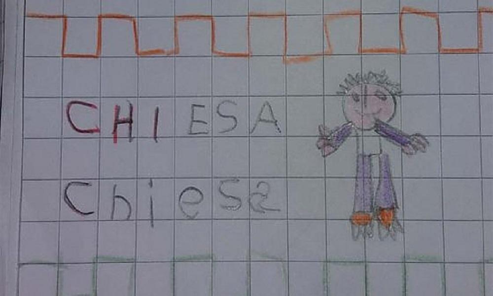 Firenze: maestra chiede disegnare una chiesa, bambino disegna il calciatore Federico