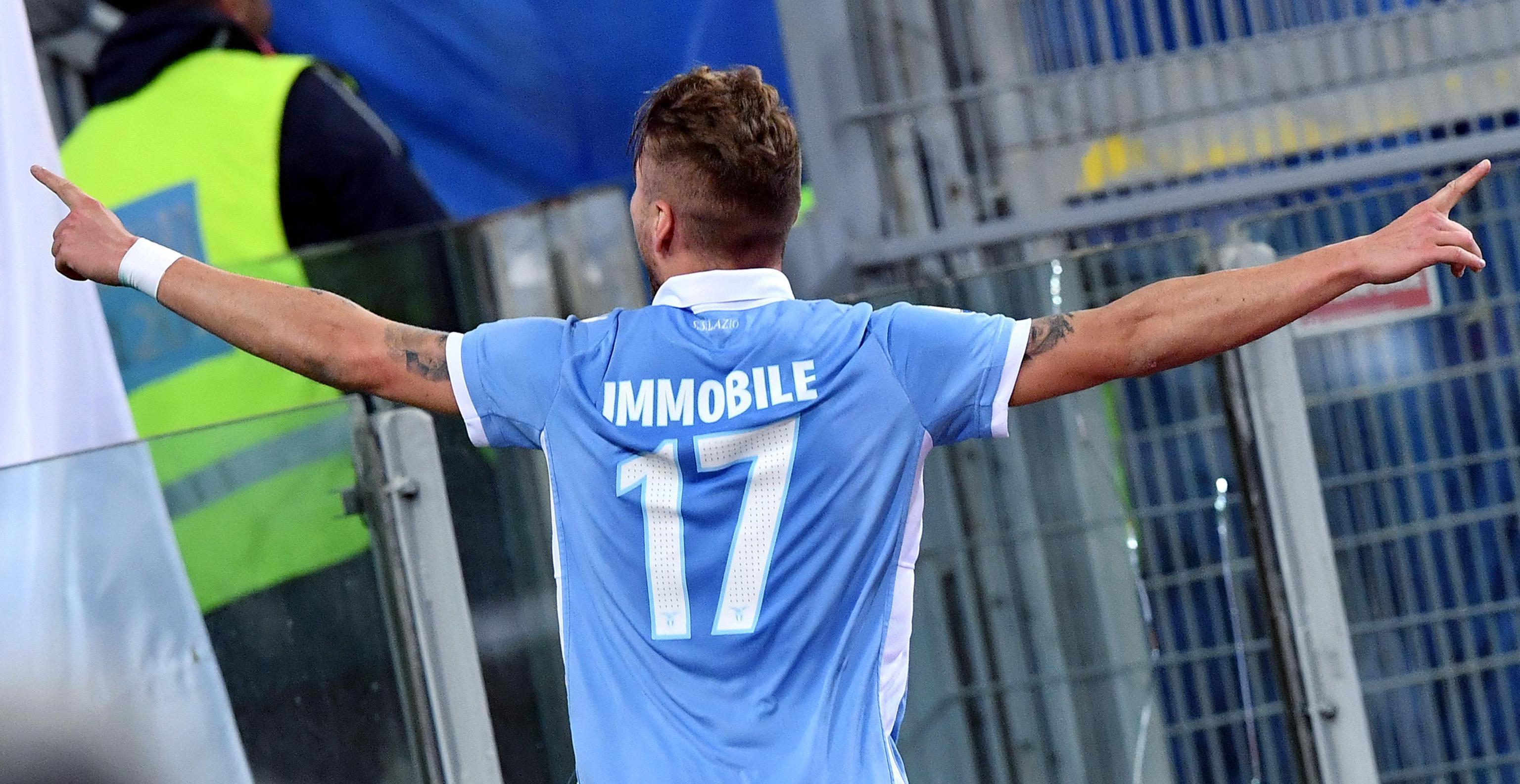 """Ciro Immobile: """"Felice di far parte della storia della Lazio"""""""