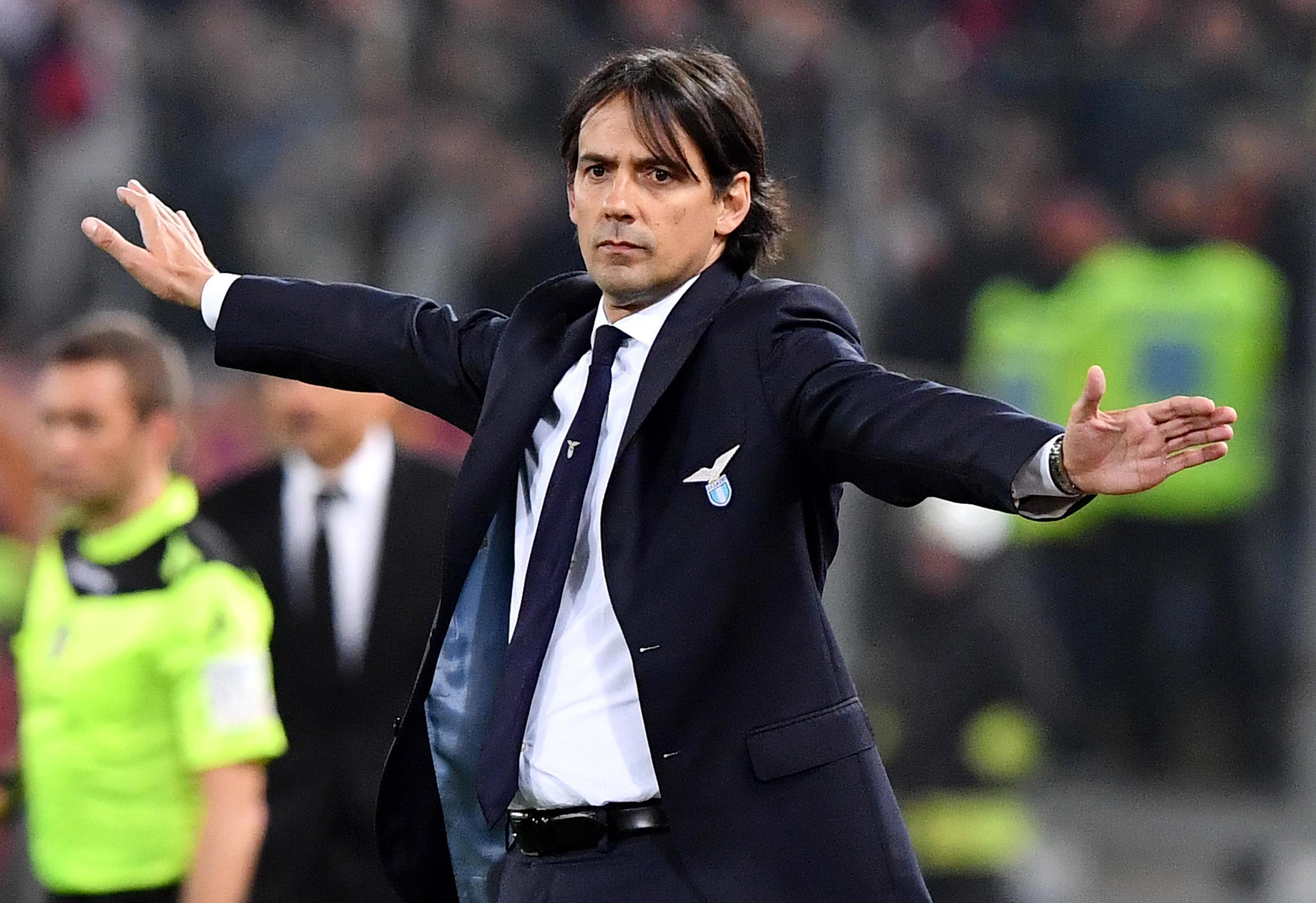 """Simone Inzaghi: """"Lazio perfetta, la Roma non era imbattibile..."""""""