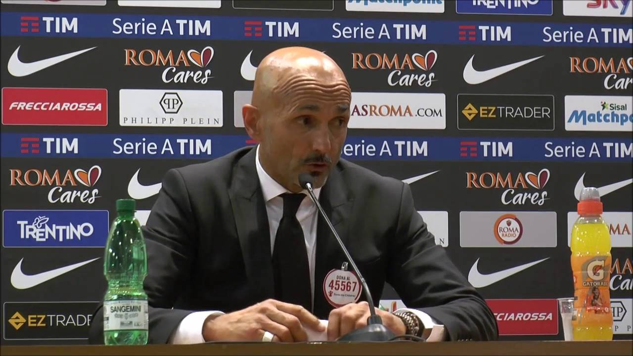 """Lazio-Roma, Luciano Spalletti: """"Risultato ribaltabile al ritorno"""""""