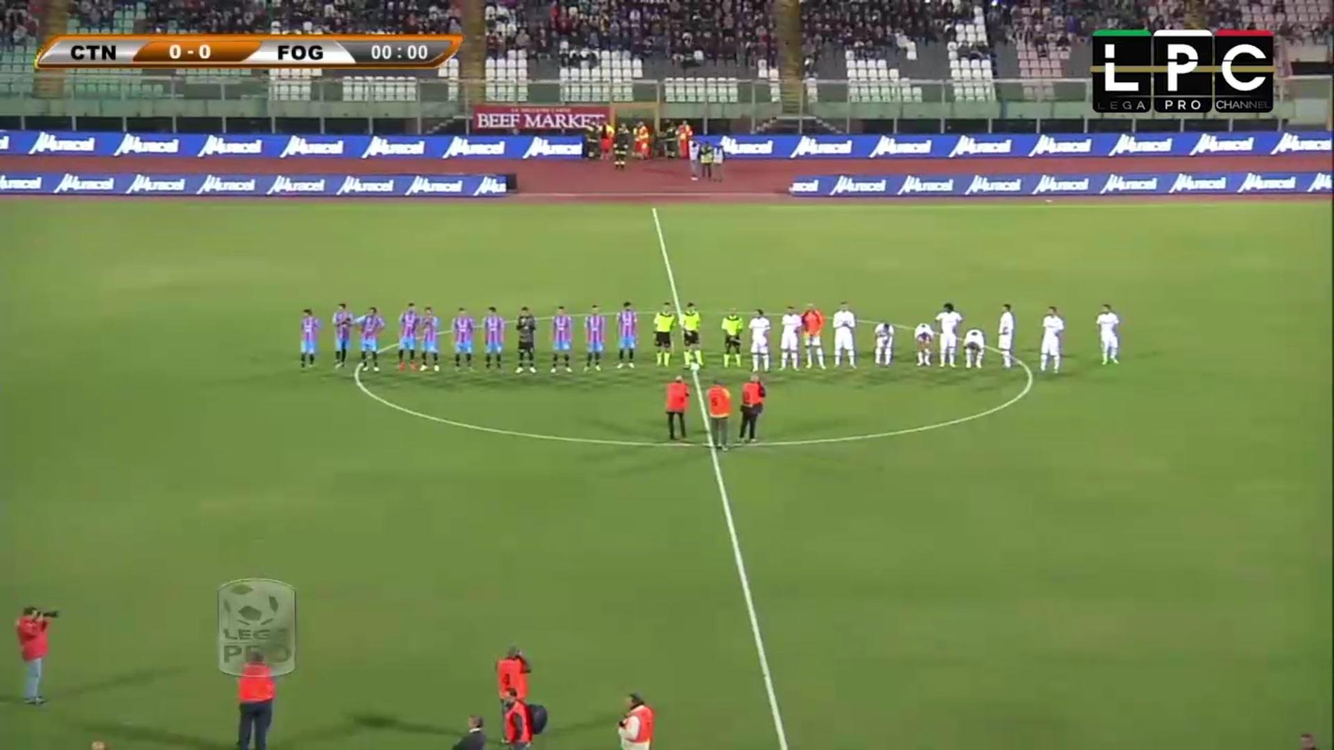Catania-Foggia Sportube: streaming diretta live, ecco come vedere la partita