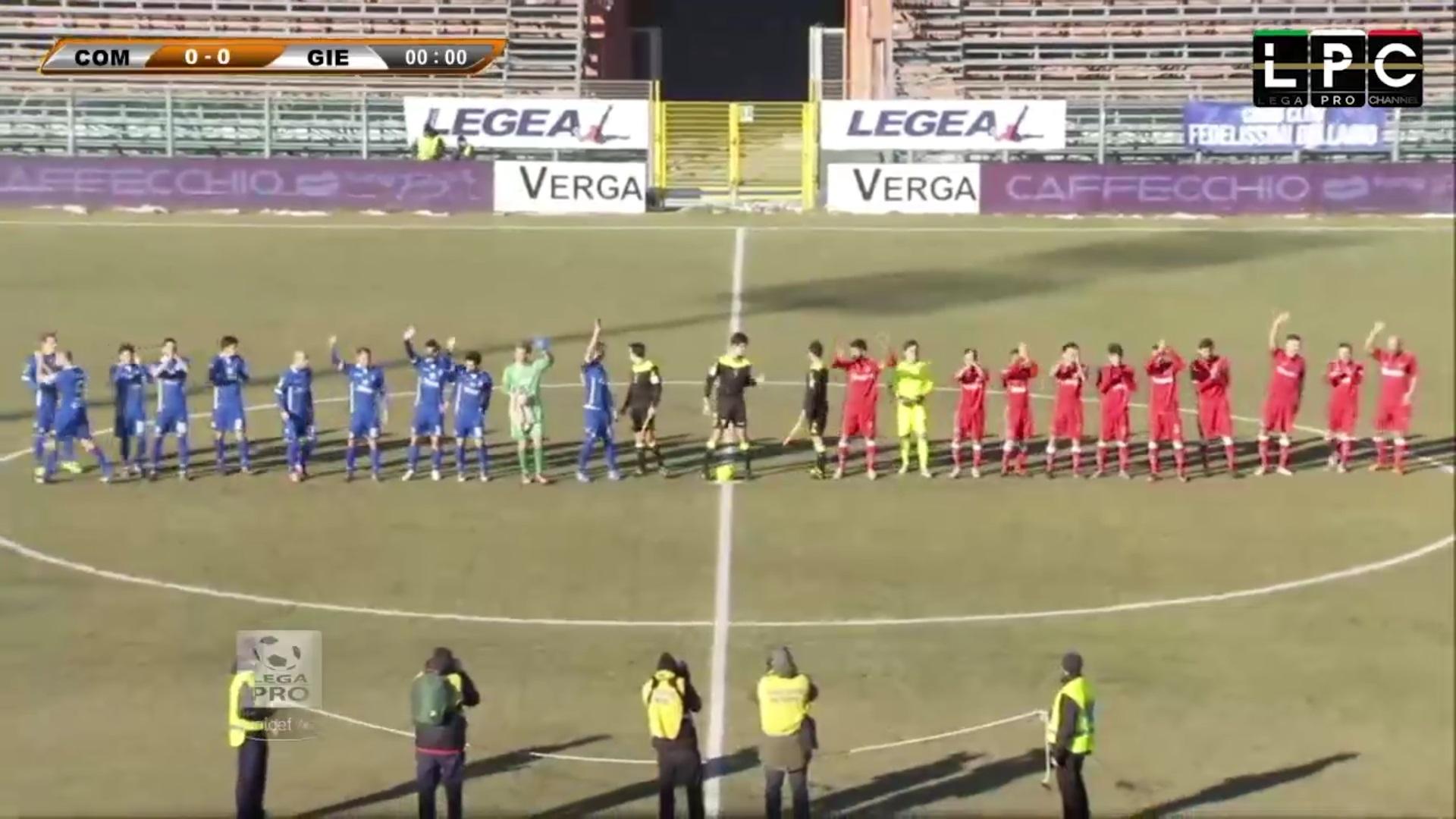 Como-Piacenza Sportube: streaming diretta live, ecco come vedere la partita