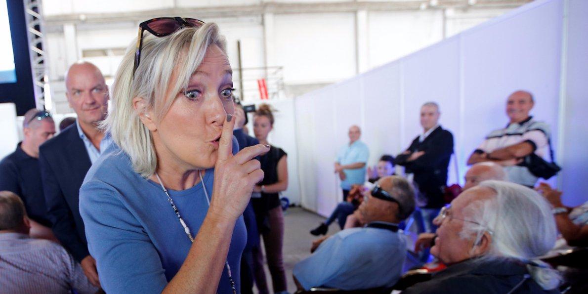 Ue, come ci mangio sopra. Campioni i partiti anti-Europa. Le Pen, Farage...