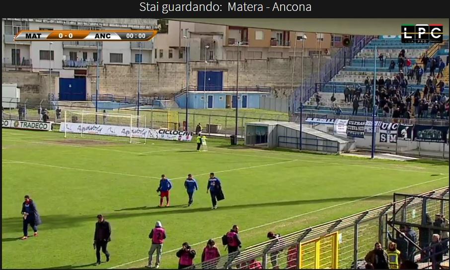 Matera-Ancona Sportube: streaming diretta live semifinale Coppa Italia Lega Pro