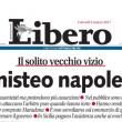 """Juve-Napoli, Libero attacca la città partenopea: """"Piagnisteo napoletano"""" 01"""