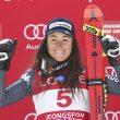 """Sci, Sofia Goggia """"ninja delle nevi"""": vince la sua prima Coppa del Mondo in Corea FOTO"""