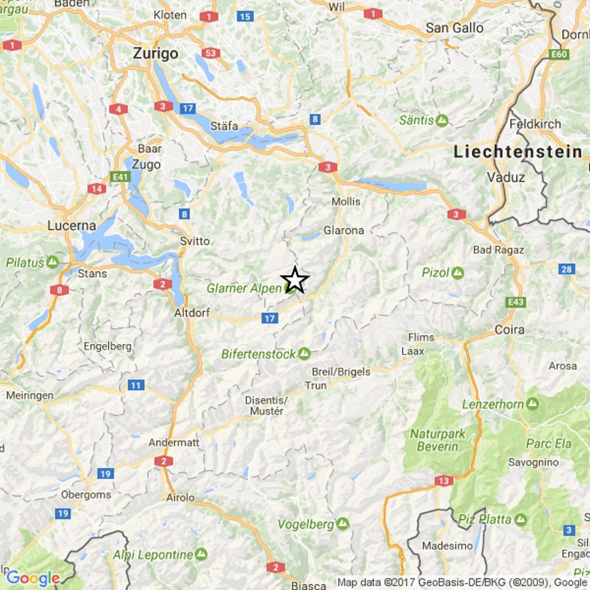 Terremoto Svizzera, scossa di magnitudo 4.4 sulle Alpi: avvertito fino a Milano