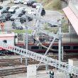 Treno deraglia deraglia a Lucerna: ci sono feriti. Era partito da Milano 4