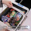 Robot cestello calcola la spesa e la mette nei sacchetti