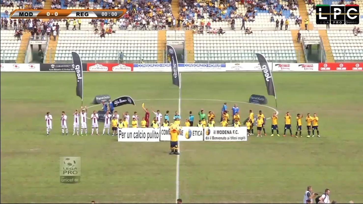 Modena-Sambenedettese Sportube: streaming diretta live, ecco come vedere la partita