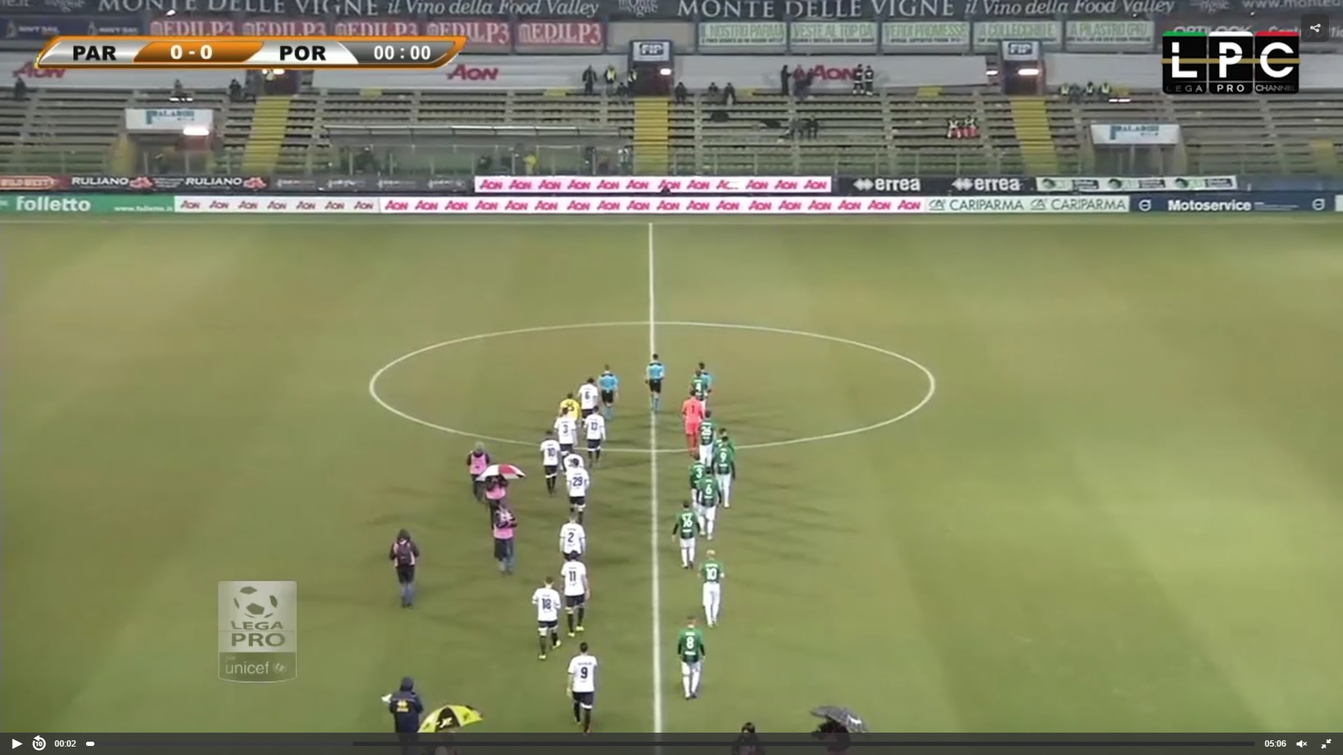 Parma-Südtirol: RaiSport diretta tv, Sportube streaming live. Ecco come vedere la partita