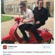 Noel Gallagher compie 50 anni festa stile Narcos