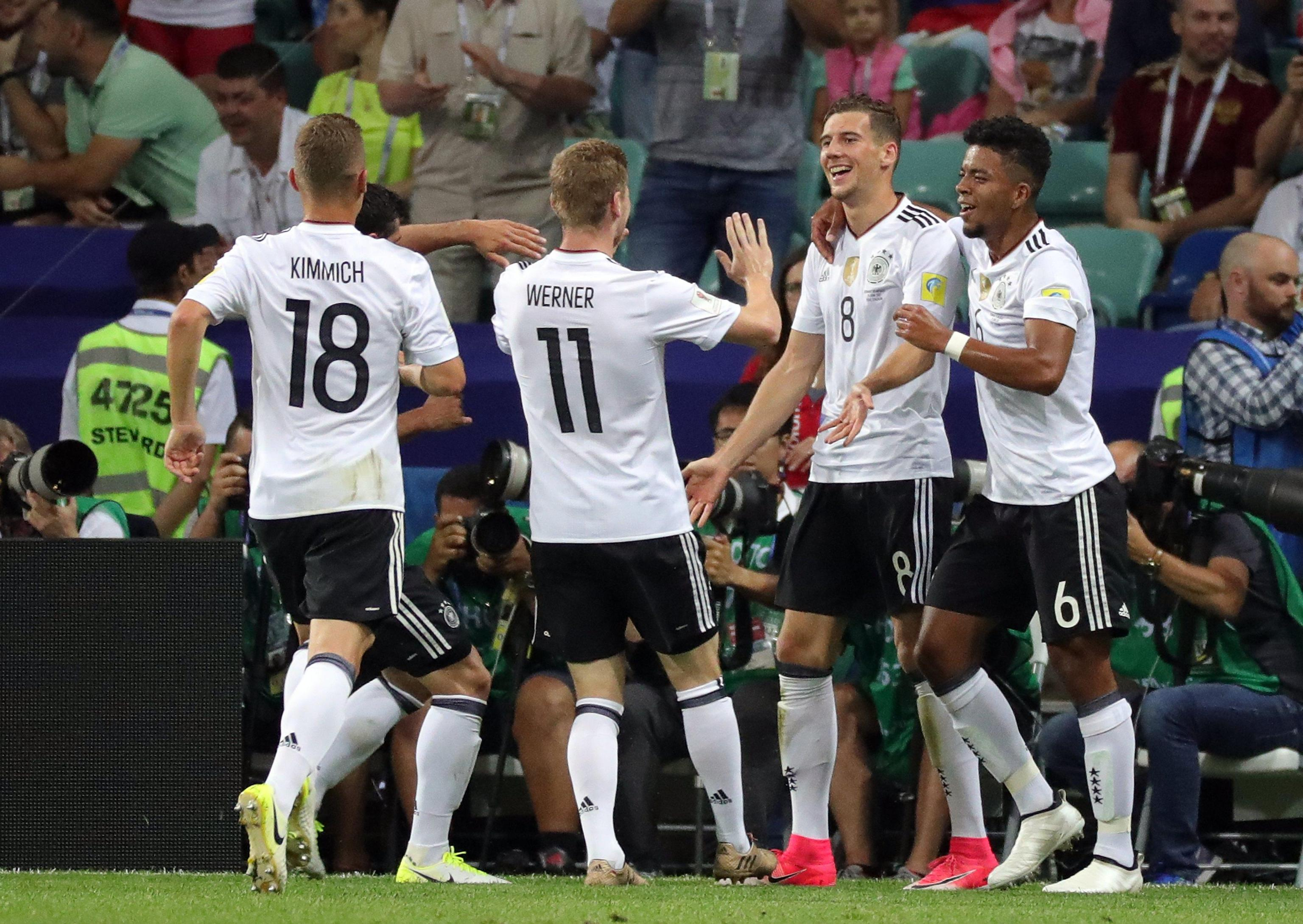 Germania-Messico 4-1 (highlights). Cile-Germania sarà la finale della Confederations Cup