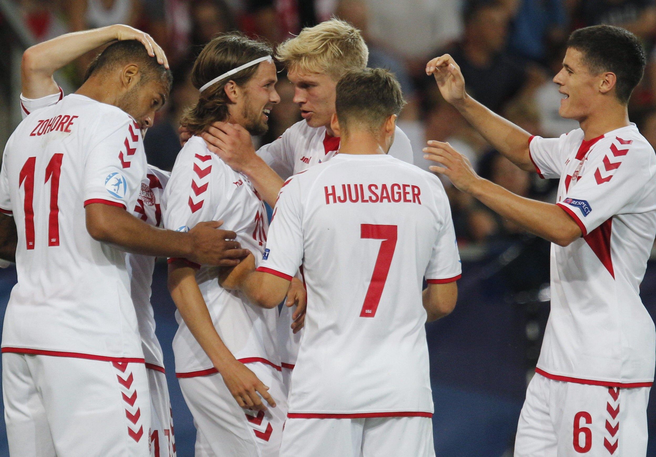 Repubblica Ceca-Danimarca 2-4, highlights Europeo Under 21: Zohore doppietta