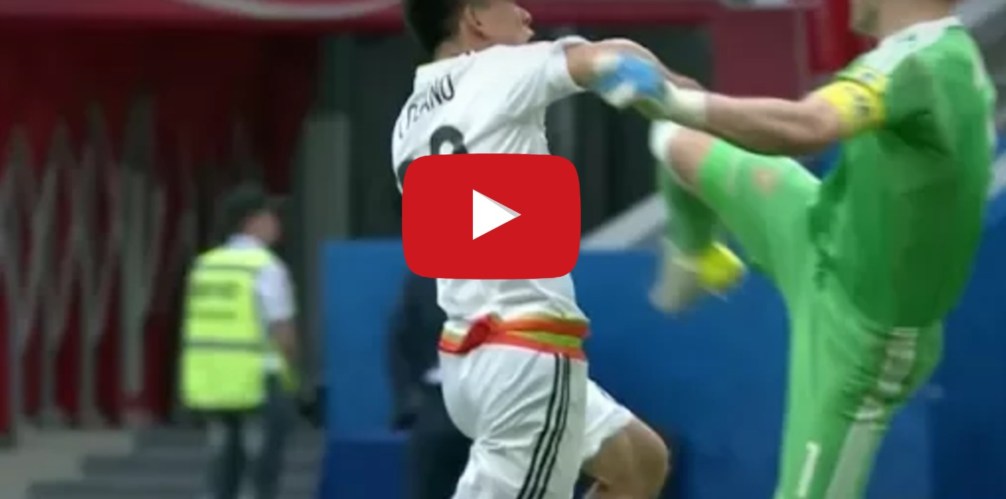 Messico-Russia 2-1, highlights Confederations Cup: Lozano decisivo