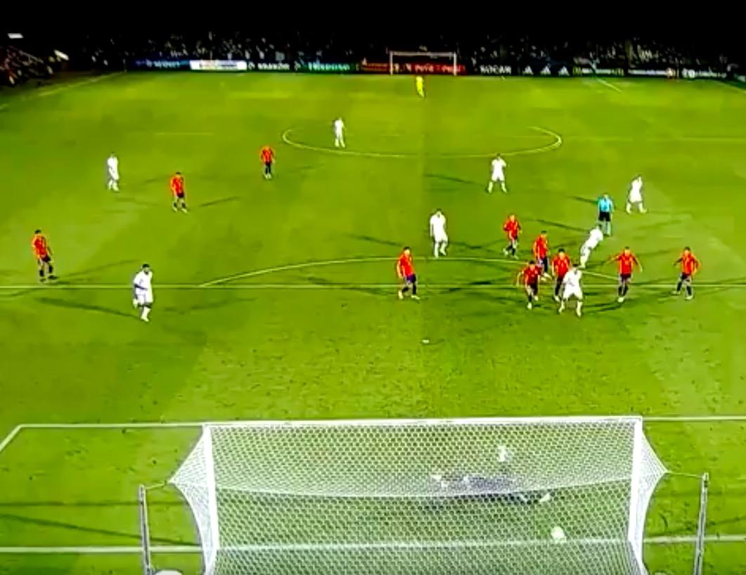 Federico Bernardeschi video gol Spagna-Italia 2-1 (Europeo Under 21)