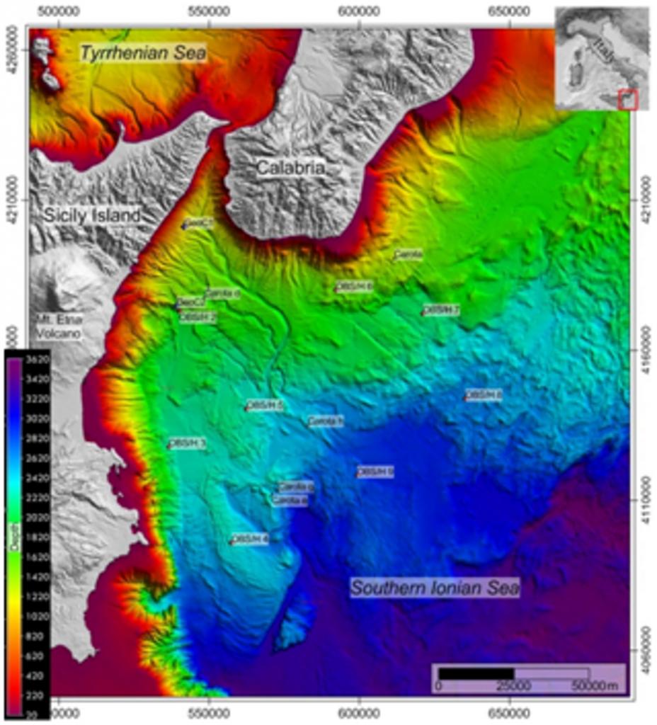 Mar Ionio, lo studio dei fondali per comprendere terremoti e vulcani