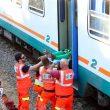 Puglia, scontro frontale tra due treni in Salento: almeno 15 feriti FOTO02